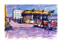 Hove Seafront Cafe - Pen  Wash