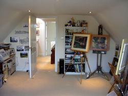 part of my studio/gallery