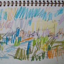 Drawing, Borve, Summer