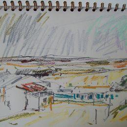 drawing, North Bragar