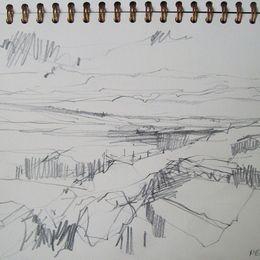 drawing, North Bragar, weather