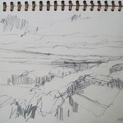 drawing, North Bragar, weather