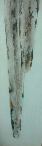 Panel three of ice series triptych