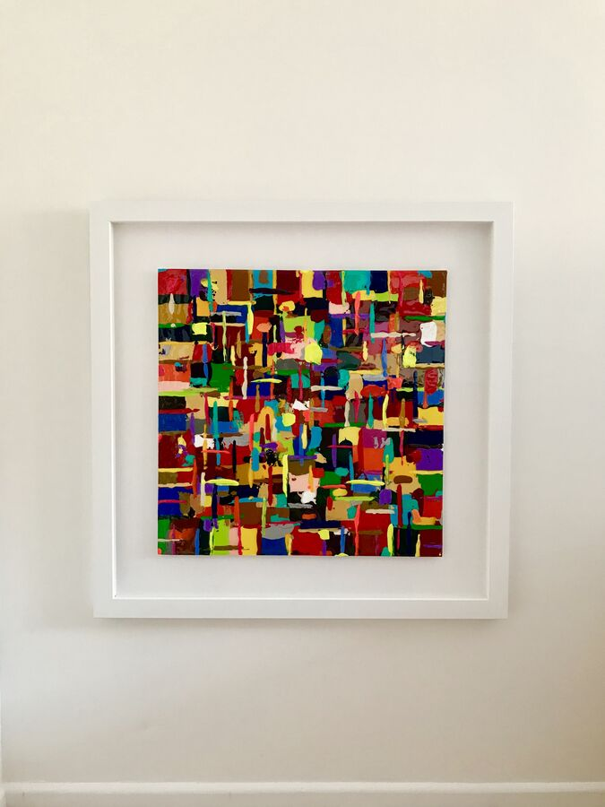 Series 3 Ode to Hans Hofmann Abstract Euphony