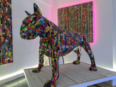 'Lock Stock' sculpture