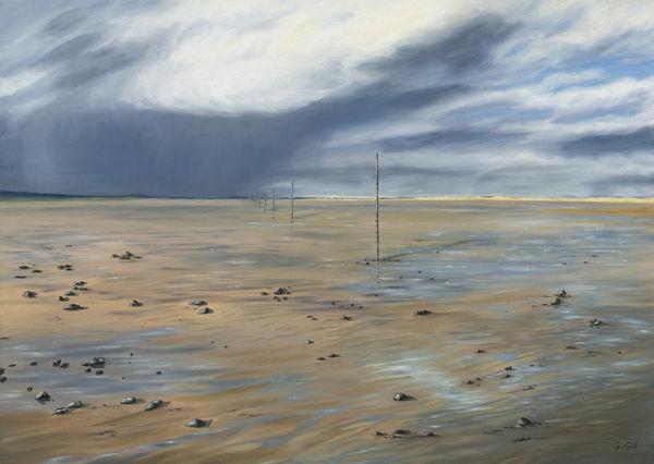Approaching Storm Lindisfarne