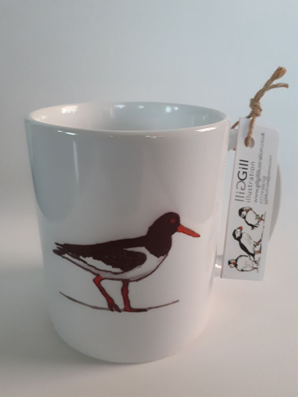Oystercatcher Art Mug