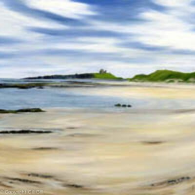Dunstanburgh from Low Newton