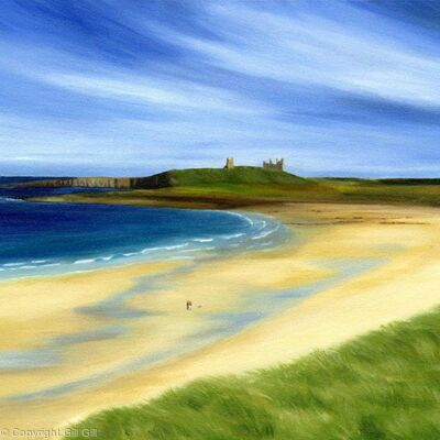 Dunstanburgh from Embleton Bay