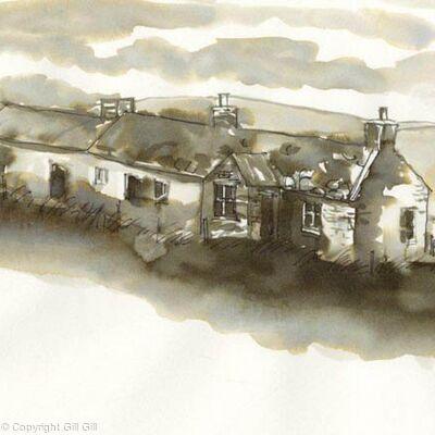 Abandoned Cottage, Orkney