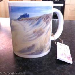 Bamburgh Dunes Mug