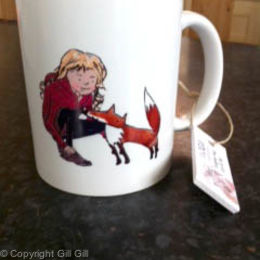 Lily and Flip Mug (front)