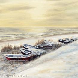 Winter Boats Whitburn