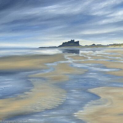 Incoming Tide, Bamburgh