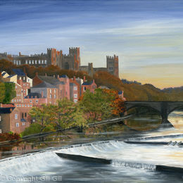 Riverside In Summer, Durham