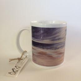 Blustery Day on The Northumbrian Coast Mug
