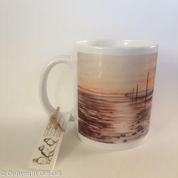 Winter's Light Lindisfarne Mug