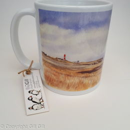Souter Lighthouse Art Mug