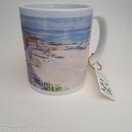 Cat and Dog Steps Mug