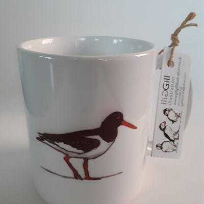 Oystercatcher Art Mug
