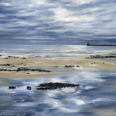 Reflections, Roker Beach