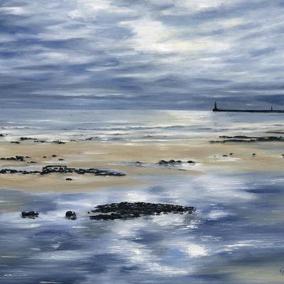 Reflections Roker Beach