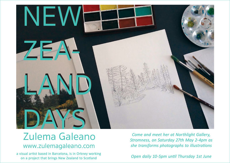 Zulema Galeano preview invitation
