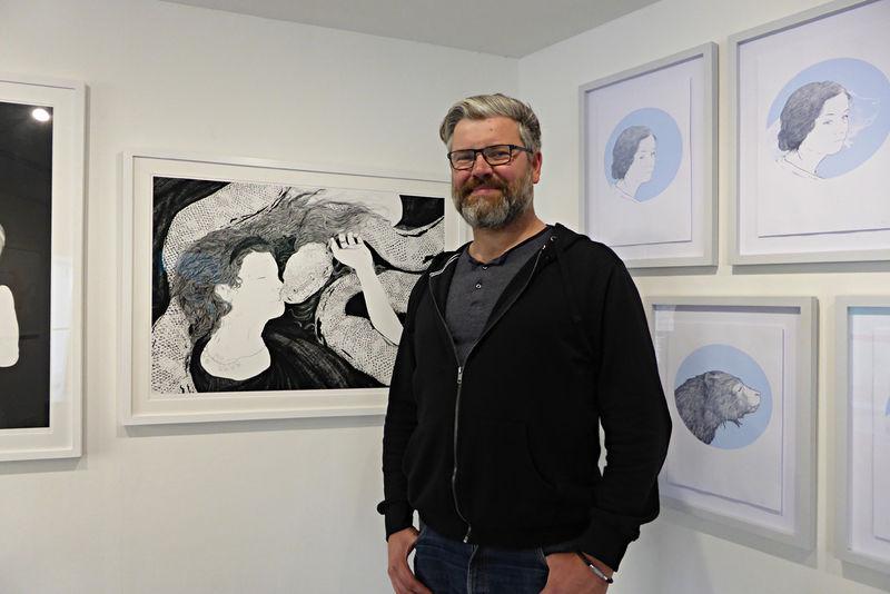 Howard Hardiman's exhibition of drawings