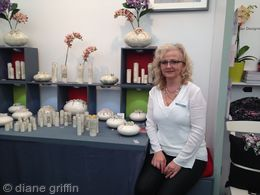 Me  on my stand at Kew Exhibition