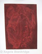 Tulipmania 20 - Etching - Red
