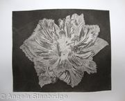 Caspin Dark Aquatint Etching B/W