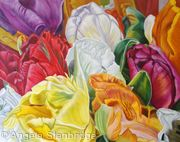 Bouquet of Tulips - SOLD