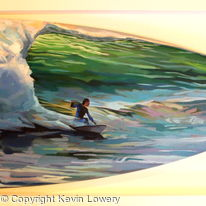 Surfer At Tullan Strand - Liquid Therapy Raffle