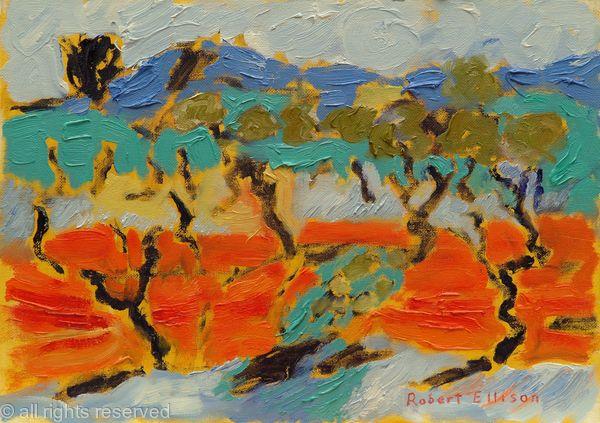 Olive Trees Sardinia