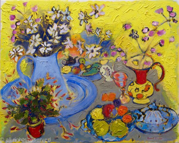 Yellow Still Life (Winner In Category American Art Awards 2016)