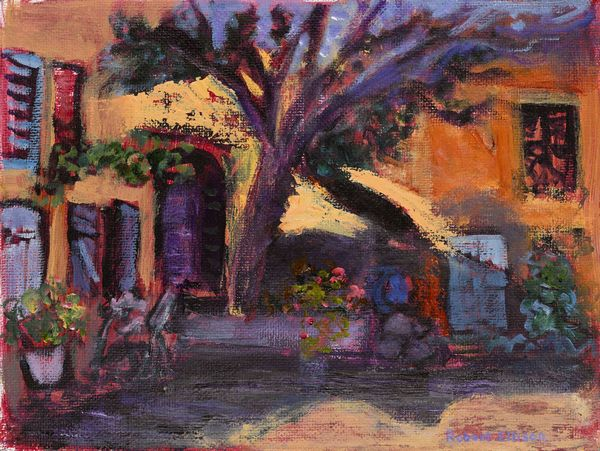 Haut Var Village Scene, Provence