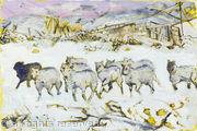 Flock of Sheep, Horn Head