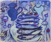 Still Life with Six Mackerel