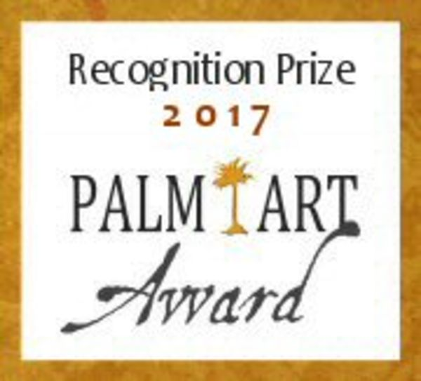I won a Palm Art award recognition award 2017, for the quality and originality of my painting this year. A huge honour