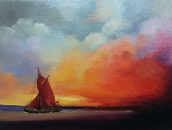 Red Sails - Thames Barge