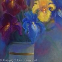 Irises and Pansies