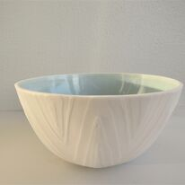 Water-eroded Porcelain Bowl