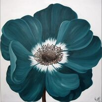 Teal Anemone