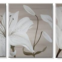 White Lilies (Triptych)