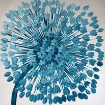 Teal Allium