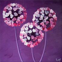 Pink Allium Trio