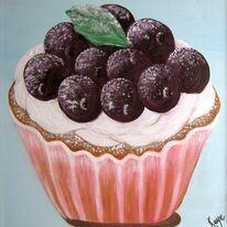 Blueberry Cupcake