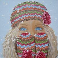 Warm Woollen Mittens