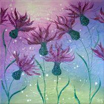 Cornflower Cluster