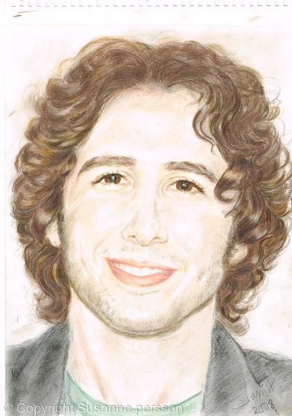 portrait of  singer Josh Groban